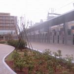 川崎市立多摩病院:歩廊